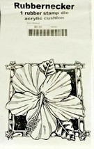 Rubbernecker Stamps Bold Hibiscus Stamp