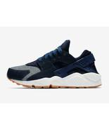 Nike Women's Air Huarache Run SE Shoes NEW AUTHENTIC Blue/Sail 859429-40... - $73.49
