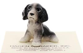 Hagen-Renaker Miniature Ceramic Dog Figurine English Springer Pup image 1