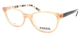 Fossil FOS 6053 MAL Women's Eyeglasses Frames 50-18-140 Opal Peach + CASE - $79.00