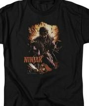 Ninjak T Shirt Valiant Comics X-O Manowar Unity black graphic tee shirt VAL191 image 2