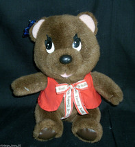 "9 "" Vintage Tootsie Roll Applause Marrone Orsacchiotto Peluche Giocattol... - $16.75"