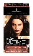 Schwarzkopf Color Ultime Hair Color Cream, 3.8 Velvet Brown - $19.95