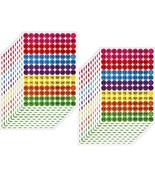 3080 Pieces Garage Sale Stickers Preprinted Pricing Labels Neon Removabl... - $11.14