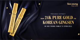 SOO YOUNG KOREA SERUM COLLAGEN ESSENCE 24K PURE GOLD GINSENG SKIN CARE image 11