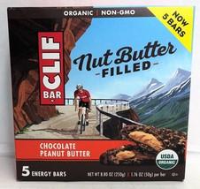 Cliff Bar Nut Butter Filled Chocolate Peanut Butter Organic Energy Bars ... - $8.45