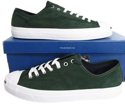 Converse Jack Purcell PRO OX x POLAR Skate Co EMERALD GREEN 159123C (Men... - $66.00