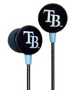 iHip MLB Tampa Bay Rays 3.5mm Connector Cushion Earphones iPod/iPhone NEW  - $9.47