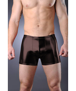 Thunderbox Liquid Metal Black Pouch Shorts Party Costume Dance S, M, L, XL - $25.00