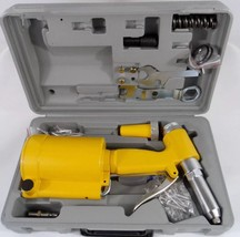 New Pneumatic Air Hydraulic Pop Rivet Gun Riveting Tool w/Case Quick SHI... - $68.88