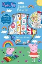 Disney Peppa Pig Sticker Paradise - Book Album & Reusable Stickers Fun Activity - $4.70
