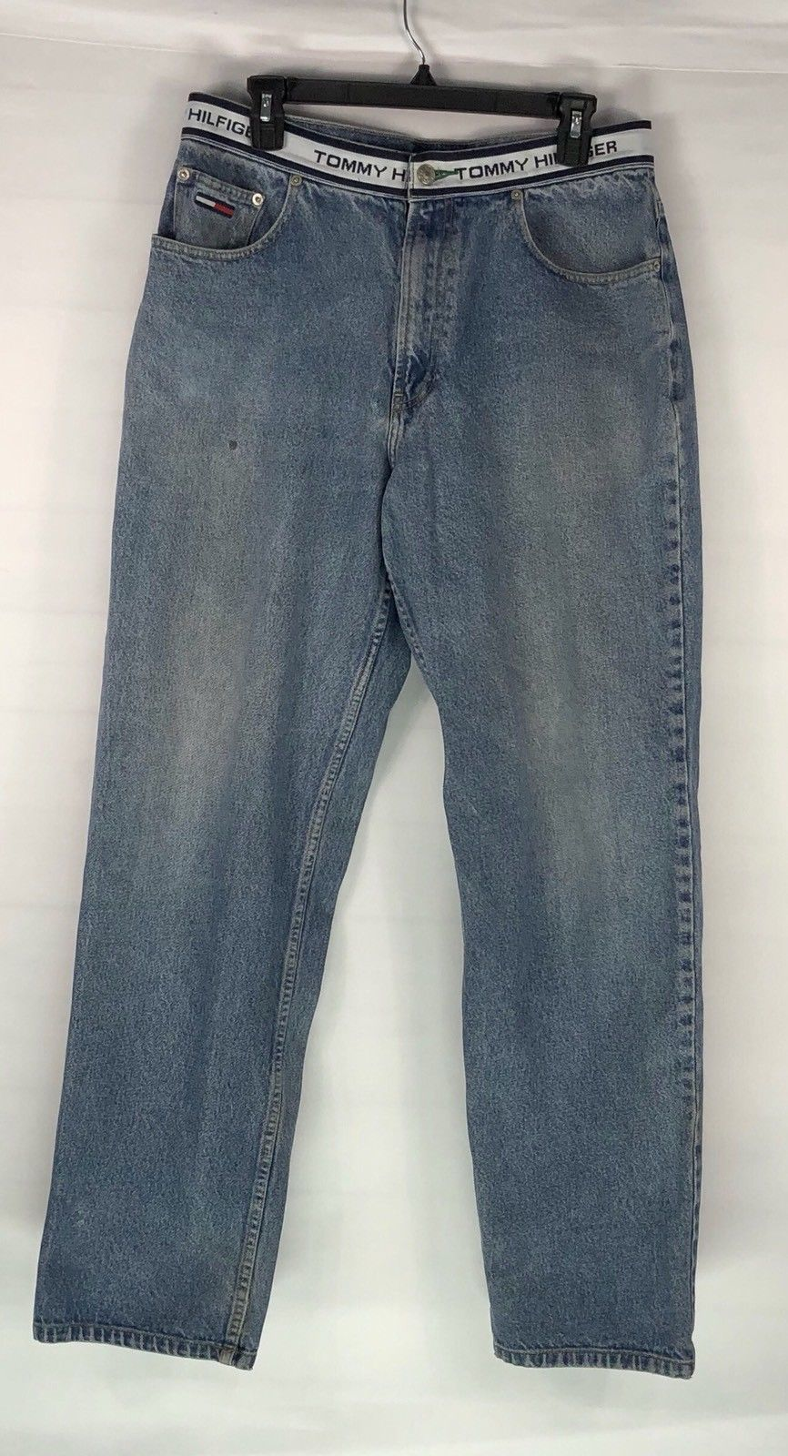 15332a2dd Vintage Tommy Hilfiger Jeans Spell Out Logo and 47 similar items