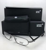 New Folding MONTBLANC Readers Eyeglasses MB 198 A36 53-20 140 Ruthenium ... - $219.99
