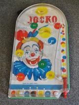 Vintage JOCKO Circus Clown Bagatelle Pinball Game - $23.36