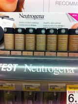 BUY 1 GET AT 20% OFF(Add 2) Neutrogena Shine Control Make Up Foundation ... - $5.95+