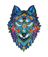 """Unidragon Wooden Jigsaw Puzzles """"Majestic Wolf"""" Wooden Puzzles for Adult... - $89.99"""