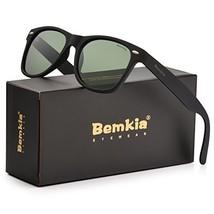 Bemkia Sunglasses Men Women Polarized Retro Classic UV 400 Protection 54... - $8.13
