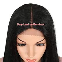 REMY FORTE 38 Inches Super Long Synthetic Hair Wigs Extra Long Lace Front Straig image 8