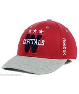 Washington Capitals Reebok M556Z NHL 2015 Winter Classic Hockey Cap Hat S/M - $22.75