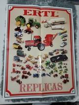 """VTG Rare Ertl  Poster 21.5"""" x 16 3/4"""" tractors cars trucks (A2) - $34.65"""