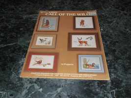 Call of the Wild  Book 85 by N Carole Brown Charted Designs Counted Cros... - $2.99