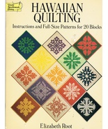 Hawaiian Quilting Instructions for 20 Blocks Quilt Pattern Book - $7.99