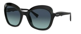Tiffany & Co. TF4154 80019S Black/Gradient Blue Sunglasses 54mm - $241.53
