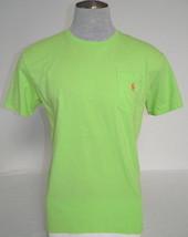 Polo Ralph Lauren Green Short Sleeve Cotton Tee T Shirt Mens NWT - $44.99
