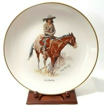 Vintage Gorham China Frederic Remington Plate Old Ramon  Mint Condition - $19.75