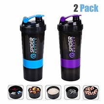 Rosoz Protein Shaker Bottle, Protein Shaker Cup BPA Free, Fitness (blue+... - $21.39