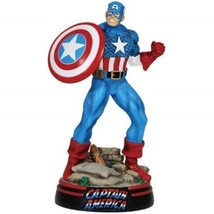 """Marvel Comics Captain America in Fighting Stance Large 8"""" Figurine NEW B... - $43.30"""