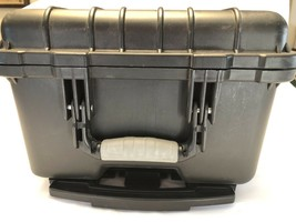 Locking Rolling Hard Shell Case Black 21.5 x 12.5 x 9.5 Electronics Came... - $97.95