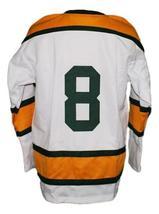 Custom Name # Toledo Goaldiggers Retro Hockey Jersey New White Any Size image 2
