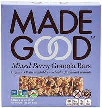 Made Good Mixed Berry Granola Bars 5.1 oz (Pack of 2) - $23.33
