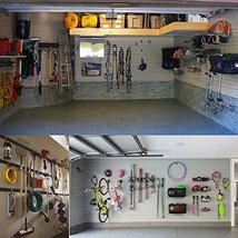 Heavy Duty Garage Storage Utility Double Hooks,Extended Wall Mount Tool Holder O image 2