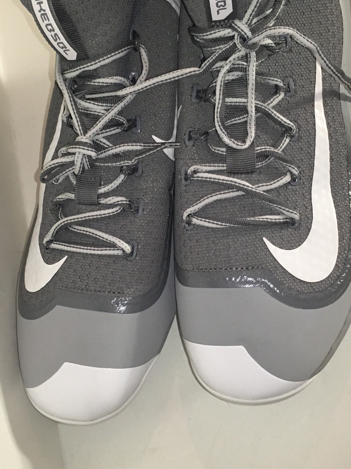 the best attitude f31c8 37bb0 ... Nike 749359-011 Air Huarache 2K Filth Elite Mid Baseball Cleats Grey  size 14 ...