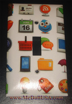 Phone Emoji icon Light Switch Power Duplex Outlet Wall Cover Plate Home decor image 1