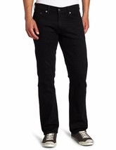 NWT Mens Levis 541 Athletic Taper Jeans Straight Black Stretch 181810034 - $34.99