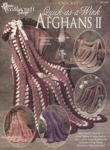 Quick-as-a-Wink Afghans II, The Needlecraft Shop Crochet Stories Pattern... - $7.95