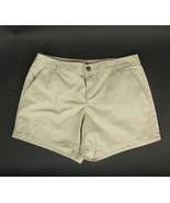 GAP Size 16 Khaki Cotton Shorts - $9.99