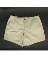 GAP Size 16 Khaki Cotton Shorts - $5.99