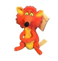 Disney Mary Poppins Orange Fox Plush Bean Bag Stuffed Animal Toy Collect... - $7.91