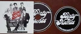 Dirty Names Rock and roll Mind Control Autographed CD & Sticker - $14.95