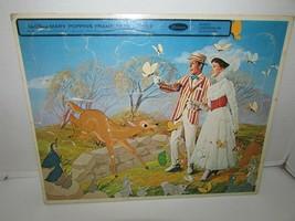 Vintage Disney Puzzle in Rahmen Tablett Mary Poppins 1964 Whitman 11 X 14 L183 - $7.79