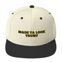 Made Ya Look Trump / Made Ya Look Snapback Hat image 9