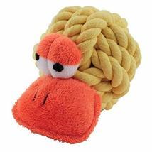 MPP Rope Head Dog Toys Woven Ball Plush Face Squeaker Choose from 7 Char... - $13.87 CAD