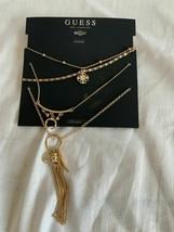 """Guess Necklace Bundle Gold Color 12.5""""/18""""/28"""" New 412128Y-43 - $8.90"""