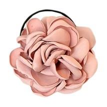 Elegant Flowers Ponytail Holders Hair Rope Hair Accessories(Pink)