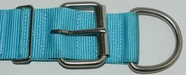 Valhoma 760 S26 TQ Spike Dog Collar Turquoise Double Layer Nylon 26 inches Pkg 1 image 4