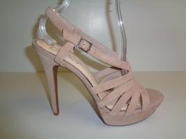 Jessica Simpson Size 10 M PEACE Sandbar Suede Platform Sandals New Womens Shoes - $88.11